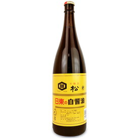 日東醸造 白醤油 松 1800ml