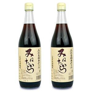 《送料無料》小笠原味淋醸造 三河本格本みりん みねたから 720ml × 2本 三年熟成 糖類無添加 《あす楽》