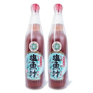 仙葉善治商店 塩魚汁 しょっつる 550ml × 2本