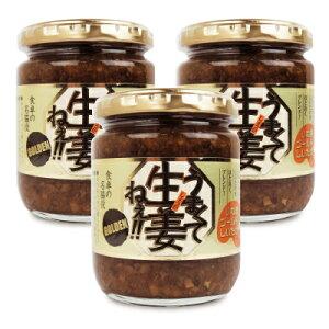 吾妻食品 うまくて生姜ねぇ ゴールデン 240g × 3個《あす楽》