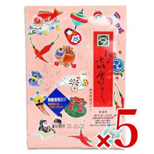 《メール便で送料無料》やまつ辻田 極上七味 西高野街道から 袋 15g × 5袋