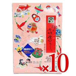 《メール便で送料無料》やまつ辻田 極上七味 西高野街道から 袋 15g × 10袋
