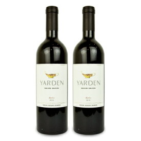 《送料無料》Yarden ヤルデン メルロー 750ml × 2本 ゴラン ハイツ ワイナリー《あす楽》