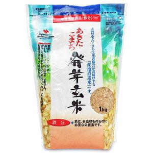 大潟村あきたこまち生産者協会 あきたこまち発芽玄米 鉄分 1kg 栄養機能食品(鉄分)