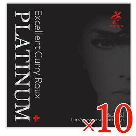 《送料無料》キャニオンスパイス プラチナプラス エクセレントカレールウ 100g × 10個セット ケース販売