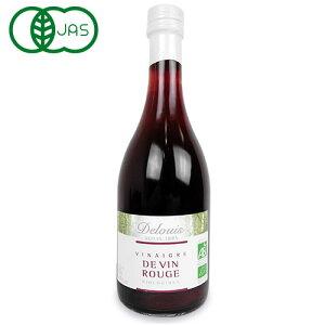 DELOUIS ドゥルイ 赤ワイン ビネガー 500ml 有機JAS