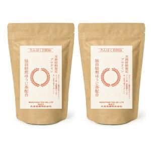 《送料無料》丸安茶業 ほうじ茶プロテイン 300g × 2袋