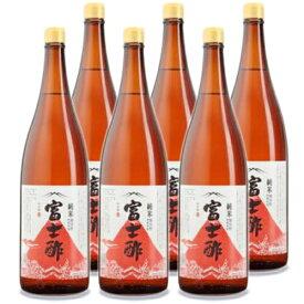 《送料無料》飯尾醸造 純米富士酢 1.8L × 6本 セット