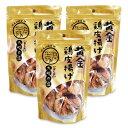 九州丸一食品 黄金鶏皮揚げ (九州の塩)50g × 3個