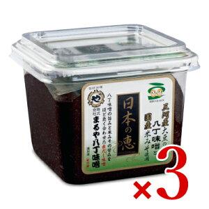 《送料無料》日本の恵 500g × 3個 まるや八丁味噌