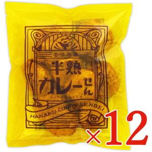 《送料無料》煎餅屋仙七 半熟カレーせん 80g × 12個 セット ケース販売