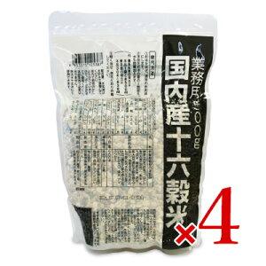 【マラソン限定!最大2000円OFFクーポン】《送料無料》種商 国内産十六穀米 業務用 500g × 4個