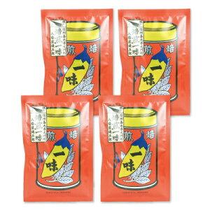 《メール便で送料無料》八幡屋礒五郎 焙煎一味唐辛子 袋 15g × 4袋