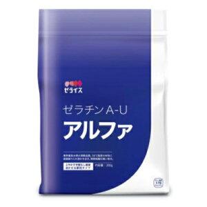 ゼライス ゼラチン A-Uアルファ 200g [顆粒ゼラチン]【ゼラチンα 業務用 冷菓 ゼリー ムース 製菓材料】