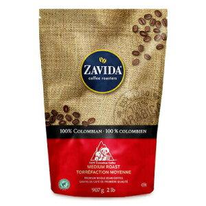《送料無料》ZAVIDA ザビダコーヒー 100% コロンビアンコーヒー 907g 2lb《正規販売店》