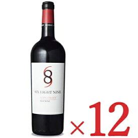 【10/20-25限定!まとめ買いクーポン】《送料無料》 689 Cellars シックス・エイト・ナイン ナパ・ヴァレー レッド [2019] 750ml × 12本 【赤ワイン フルボディ】