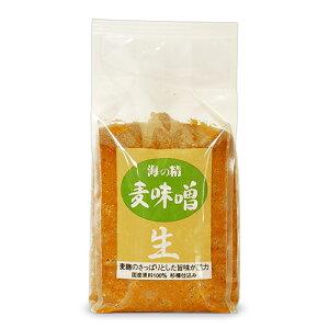 【マラソン限定!最大2000円OFFクーポン】海の精 麦味噌 1kg