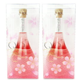 《送料無料》中野BC Blossom ブロッサムさくら梅酒 500ml × 2本