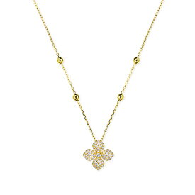 K18イエローゴールドダイヤモンドロングネックレス