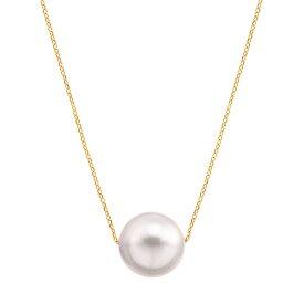 K18イエローゴールドアコヤ真珠ネックレス(8.5mm)