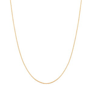 K18イエローゴールドネックレス(40cm)