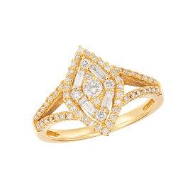 【SALE】 K18イエローゴールドダイヤモンドリング