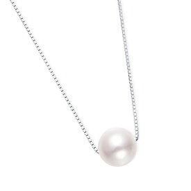 プラチナアコヤ真珠ネックレス(7mm)