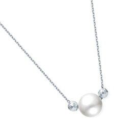 40%ポイントバック 〜09/27(金)9:59まで【DEAL】 プラチナアコヤ真珠ネックレス(6.5mm)