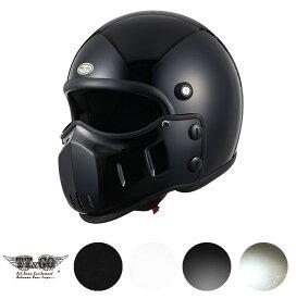 TT&CO. マッドマッスクJ01 マスク付 スモールジェットヘルメット マッドマックス MADMAX ビンテージ ジェットヘルメット SG/PSC M/Lサイズ57-58cm レトロ