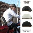 装飾用ヘルメット イーグル レザーリムショット ハンドソウン ブラウンレザー ハーフヘルメット S,ML,XLXXL