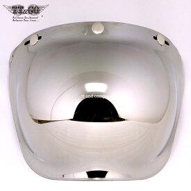 TT&CO. バブルシールド ミラー ジェットヘルメット フルフェイス バイザー ビンテージ 夜間使用不可