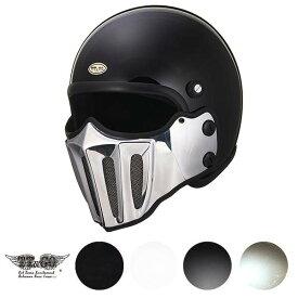 TT&CO. マッドマッスクJ02 ローマン アルミ マスク付 スモールジェットヘルメット マッドマックス MADMAX ビンテージ ジェットヘルメット SG/PSC M/Lサイズ57-58cm レトロ