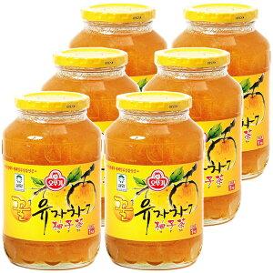 オトギ 蜂蜜柚子茶 1kg×6本 はちみつゆず茶 ビタミンC まとめ買い ゆず茶 甘味 果肉入り 美味しい