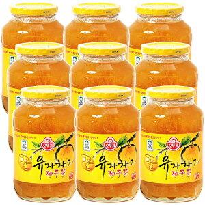 オトギ 蜂蜜柚子茶 1kg×9本 はちみつゆず茶 ビタミンC まとめ買い ゆず茶 甘味 果肉入り 美味しい