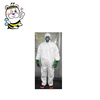 床下潜入SET(標準サイズL)/防護服/防毒マスク/吸収缶/手袋/ゴーグル