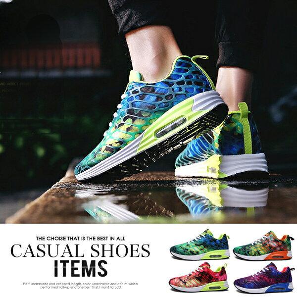 ランニングシューズ メンズ カジュアルシューズ レースアップシューズ グリーン 緑 オレンジ パープル 紫 レッド 赤 ウォーキングシューズ ローカット スニーカー ジーンズに セットアップに トレッキングシューズ おしゃれ 運動靴 紳士靴 靴 メンズ 2018春夏新作