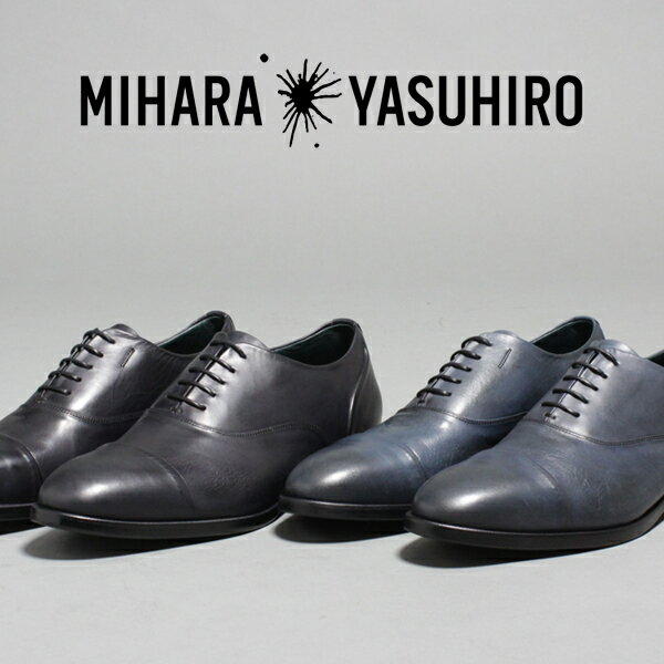 ミハラヤスヒロ ビジネスシューズ メンズ MIHARAYASUHIRO 定番 内羽根 33231200 黒 ブラック ネイビー レースアップシューズ ブランド シューズ 靴 紳士靴 ギフト プレゼント 入学式 2019 春 夏