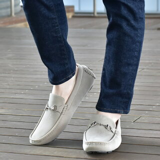 ドライビングシューズメンズスリッポンデッキシューズおしゃれカジュアルシューズブランドANアンカラフルブラック黒ホワイト白ネイビー紺ダークブラウン茶色スエードスウェード革靴皮靴モカシン靴シューズ2020春夏