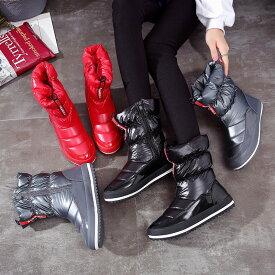 ショートブーツ レディース カジュアルシューズ 中綿ブーツ レッド 赤 ブラック 黒 グレー 灰色 女性用 婦人靴 くつ おしゃれ 可愛い かわいい アウトレット 在庫処分 2019 秋 冬