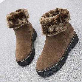 ムートンブーツ カジュアルボア ボア ショートブーツ レディース ブラック 黒 ダークブラウン 茶色 女性用 婦人靴 スエード スウェード 防寒靴 防寒ブーツ靴 カジュアルシューズ 可愛い かわいい あったか おしゃれ スノーシューズ アウトレット 在庫処分 2019 秋 冬