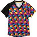 カラフルトライアングルレディースゲームシャツ
