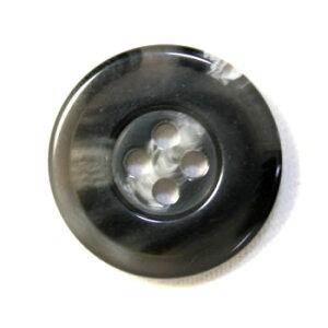 【メール便送料無料】高級スーツジャケット用ボタン 315TORAJA(COLOR.96ダークグレー系) 21mm(20mmや21mmボタンの取替えに)[1個から販売]老舗テーラー御用達スーツボタン専門店の高級ボタン