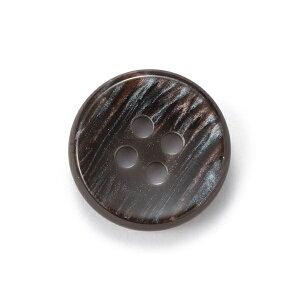 【メール便送料無料】416(COLOR.14ブラウングレー) 15mm紳士服スーツジャケットの袖口・袖ボタン[1個から販売]老舗テーラー御用達スーツボタン専門店の高級ボタン