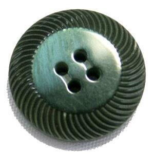 【メール便送料無料】高級スーツジャケット用ボタン アドーム イタリーボタン(COLOR.4グリーン緑系) 20mm[1個から販売]老舗テーラー御用達スーツボタン専門店の高級ボタン
