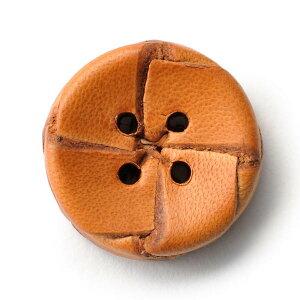 本革ボタンLZ-2200 20mm (color.01ライトブラウン) コート対応ボタン[1個から販売]老舗テーラー御用達スーツボタン専門店の高級ボタン