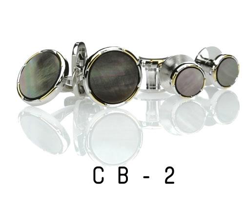 黒蝶貝・スタッド15.CB-2(スタッドバラ単品1個)