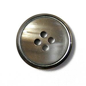 【メール便送料無料】高級スーツジャケット用ボタン サンダー 20mm color.42(シャンパンシルバー)【ゆうメール選択のみ送料無料・宅配便は480円加算】
