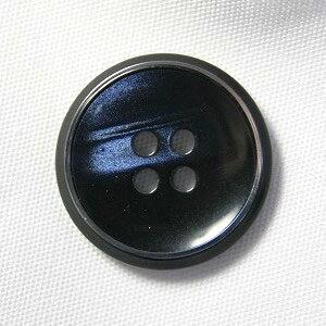 【メール便送料無料】高級スーツジャケット用ボタン サンダー 15mm color.58(ネイビー)[1個から販売]老舗テーラー御用達スーツボタン専門店の高級ボタン