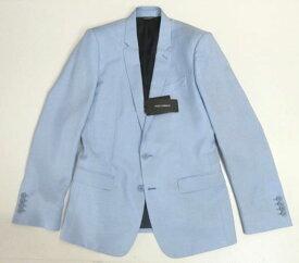 メンズ ドルチェ&ガッバーナ シルクジャケット MARTINI ライトブルー 52
