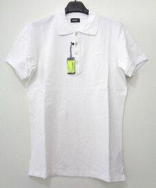 メンズ ディーゼル ワンポイント ポロシャツ ホワイト XXL
